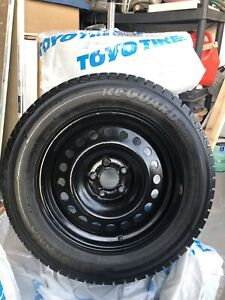 Set of 4 225/65 R17 Winter Tires with rims
