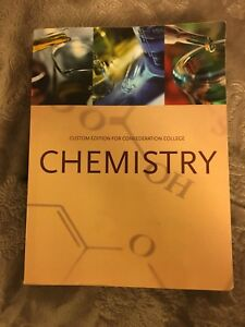 Chemistry: custom edition for Confederation college