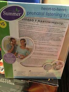 Ensemble prénatal d'écoute de cœur
