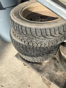 Set of 4 tires - will throw in rims for free