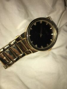 Nixon Cannon Gold Watch