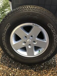JEEP Tire and Rim -like NEW
