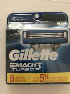 Gillette Mach3 Pack of 8 Want to sell bulk for $250
