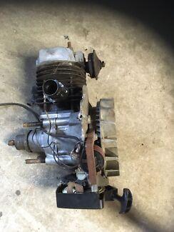 Victa 2 stroke lawn mower engine