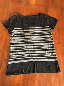 Women's Black and White Jeanswest T-shirt size Small Blackburn South Whitehorse Area Preview