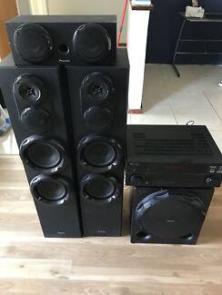 Pioneer Amp and speakers