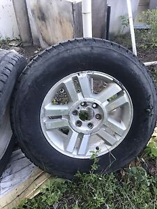 "Ford F150 Factory 17"" Aluminum Wheels Rims"