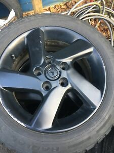 Mazda 3 winter tires and rims