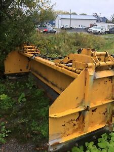 10 foot plow HLA  for Cat loader