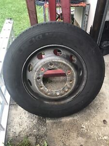 275x70R22.5 truck steer wheel Mittagong Bowral Area Preview