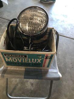 Hanimex antique movie light