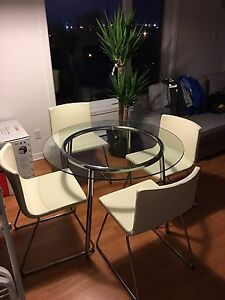 Ikea Dining Room Set BERNHARD chairs SALMI table