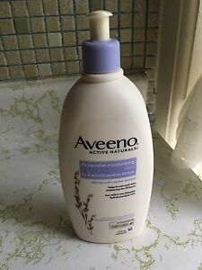 Aveeno stress relief lotion - large bottle.