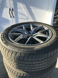 "Almost brand new 245/55/R18"" tires/rims. 5 on 115mm bolt rims"