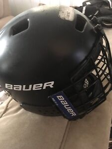 Kids Bauer helmet with face mask