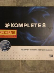 Native Instruments Komplete 8 Crossgrade Then Upgrade to 11