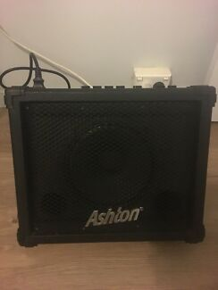 Ashton 15w busking amp (battery or ac)