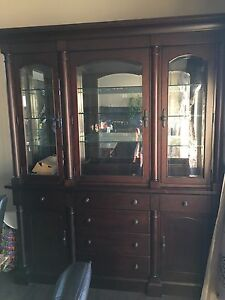 Kincaid display cabinet and buffet