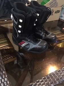 5150 size 10 snowboard boots