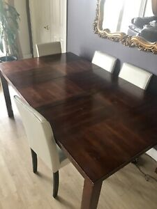 Dining room table only