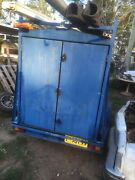 Builders trailer, heavy duty, shelves, REGO, $1200 Yarramundi Hawkesbury Area Preview