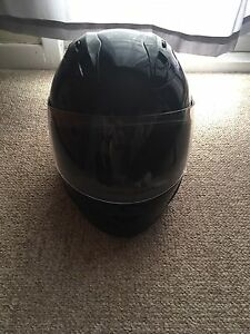 Basic Black Lrg Motorcycle Helmet $40.00 OBO