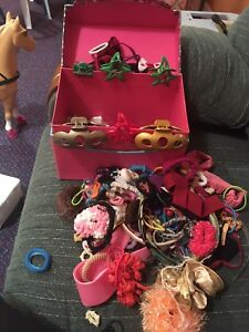 Storage box with Hair accessories