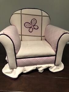 Kids Upholstered Armchair