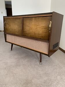 Vintage Console Stereo Graetz Moderato (German) unit from 1960