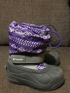 Toddler Girls Size 11 Columbia Boots