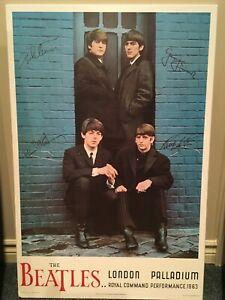 Hey Beatle Fans !   Lacquered poster