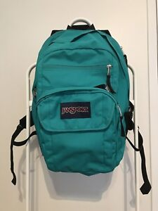 Jansport turquoise backpack