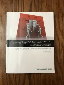 Learning Sage 50 Accounting 2015: A modular approach textbook