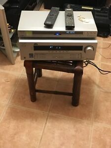 Sony Receiver And DVD Player