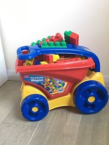Mega Blocks Fill&Dump Wagon Chatswood Willoughby Area Preview