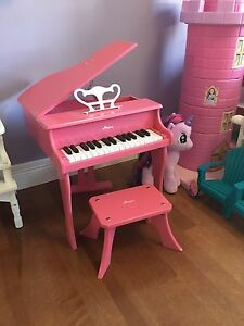 Hape pink children's piano