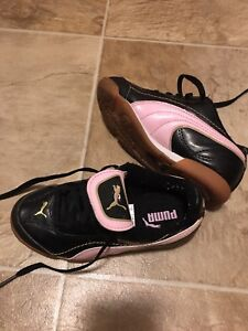 Kids indoor soccer cleats size 12