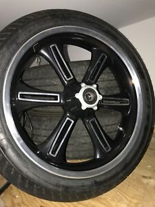 Victory cross country front tire and wheel