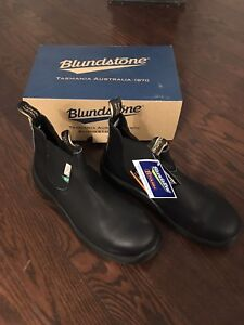 Blundstone Steel-toe Boots (CSA patch)