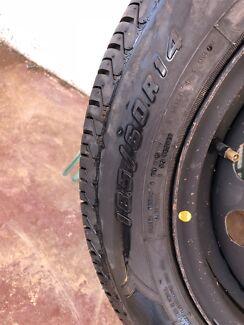 Daihatsu sirion tyre and rim Broken Hill Central Broken Hill Area Preview