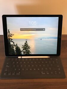 iPad 12.9 pro 256 Wifi+Cellular with Keyboard, Pencil