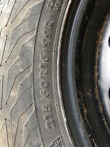 Pneus d'hiver Hercule RG2 sur roues Nissan