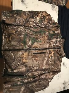 Milwaukee heated camo jacket.