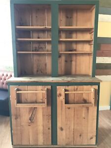 Solid wood country sideboard cupboard