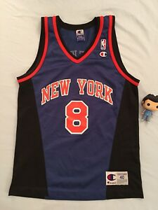 nba jersey champion New York Knicks Sprewell Yeezy jordan