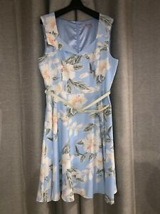 Review Baby Blue Hawaiian Dress - Size 16