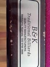 B & K Billiard Table & Accessories Thornbury Darebin Area Preview