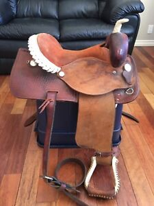 Welshs Western Saddle