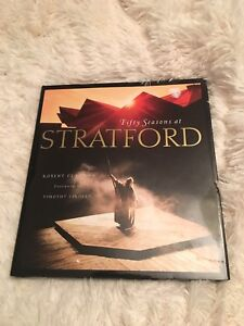 Stratford Theatre coffee table book
