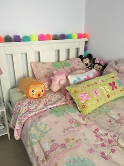King single bed & mattress